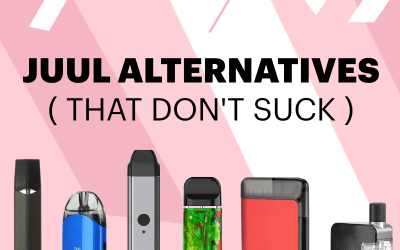 Alternativas de JUUL para 2020 (que no apestan)