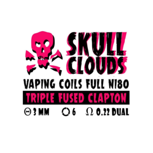 SKULL CLOUDS TRIPLE FUSED CLAPTON 0.22